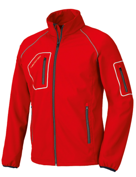 Cazadora softshell just roja