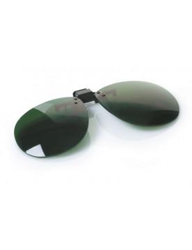 Protector para gafas FLIP-UP lente verde