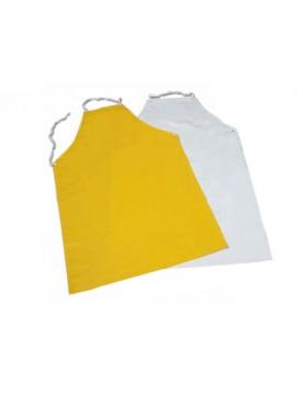 Mandil de PVC blanco