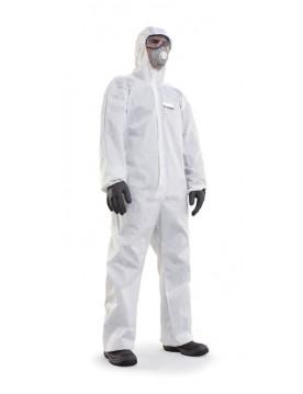 Buzo desechable polipropileno blanco