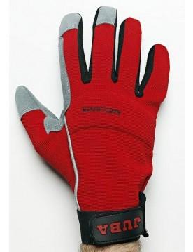 5 pares guante sintetico mecanix rojo