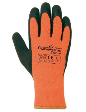 6 pares guante powergrab thermo