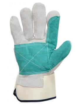 6 pares guante serraje 404-X