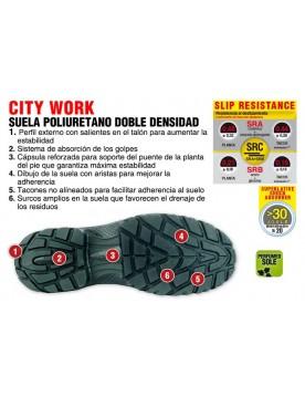 Zapato de seguridad Miami MUD S1P SRC
