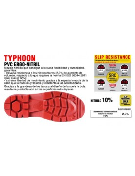 Bota de seguridad typhoon