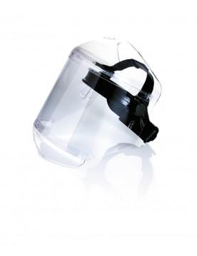 Pantalla facial proteccion quimica