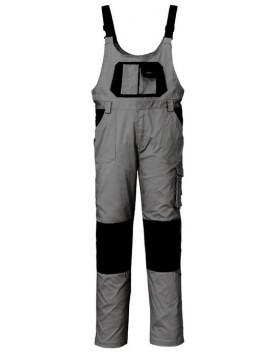 Pantalon peto gris/negro