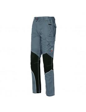 Pantalon stretch extreme gris/negro