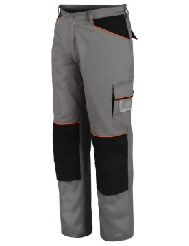 Pantalon shot gris/negro