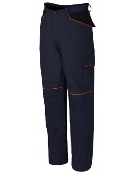 Pantalon shot azul/negro