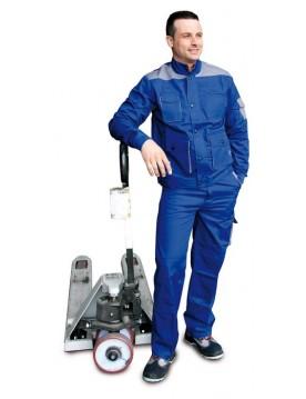 Pantalon premium azulina/gris