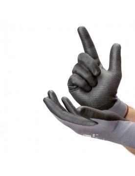 Guante nitrilo con rayas relieve en palma Armolux Palm