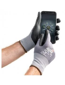 Guante nitrilo apto dispositivos electrónicos Armolux TS