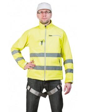 Arnes anticaidas Snowdon con chaqueta de alta visibilidad