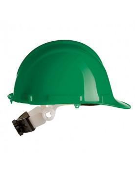 Casco de proteccion con rueda SR verde