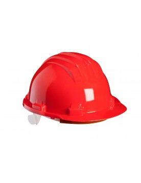 casco obra 5-RS rojo
