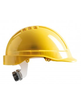 Casco de proteccion SV amarillo