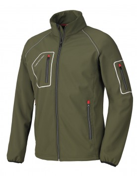 Cazadora softshell just verde