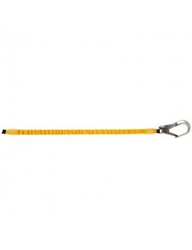 Cinta elastica de 150 cm de poliéster con 1 gancho de 64 mm apertura