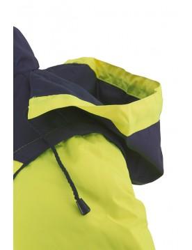 Cazadora acolchada bicolor alta visibilidad 210