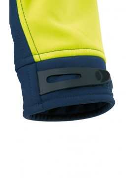Chaqueta soft shel bicolor alta visibilidad 70