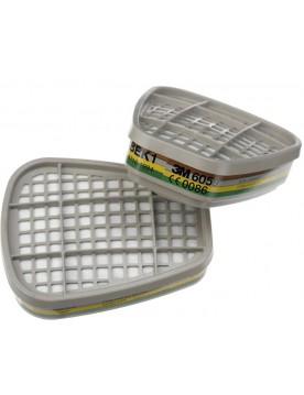 Pack 2 Filtros 3M 6059 ABEK1 p/mascara 6200
