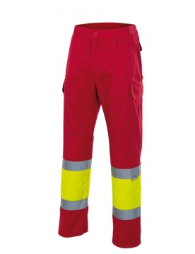 Pantalon alta visibilidad 12 20