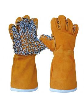 1 par guante anticalorico acero