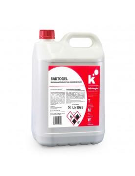 Gel hidroalcoholico para higiene de manos 5 litros