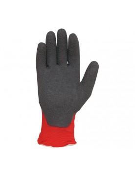 10 pares guante latex rugoso h256