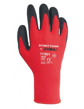 10 pares guante nylon econit