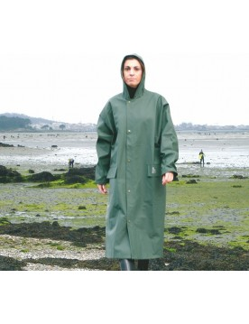 Impermeable largo unisex