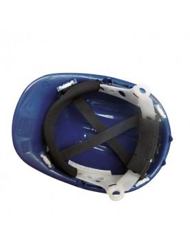 Casco de proteccion con rueda SR azul royal