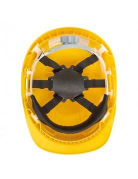 Casco de proteccion con rueda SV amarillo