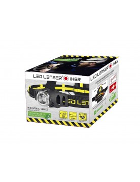 Linterna frontal Led Lenser recargable iH6R