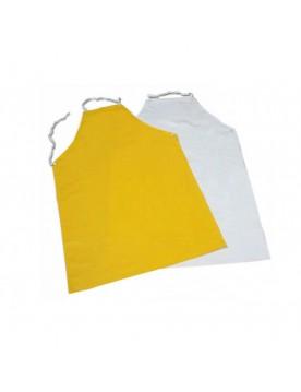 Mandil de PVC amarillo