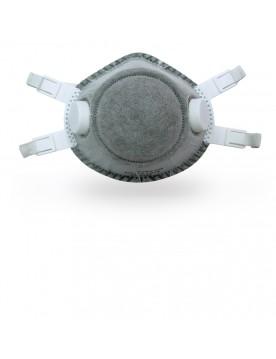 Mascarilla desechable FFP2 carbon activo. Caja 5 unidades