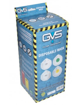 Mascarilla reutilizable FFP2 NR. Caja 15 unidades