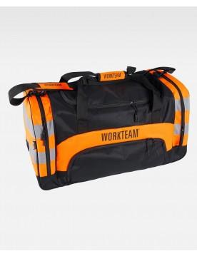 Mochila alta visibilidad WFA403 naranja
