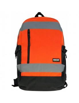 Mochila alta visibilidad naranja
