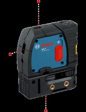 Nivel laser GPL 3 Puntos