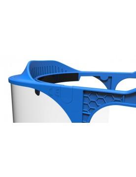Pantalla facial protectora reutilizable