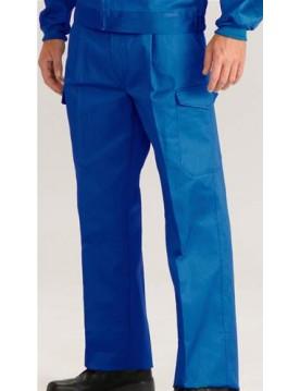 Pantalon tergal azul