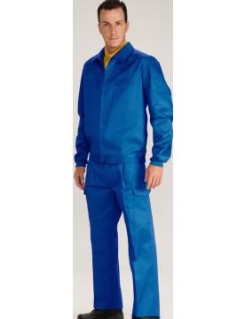 Cazadora tergal azul