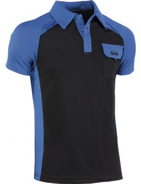 Polo cool way azul/negro