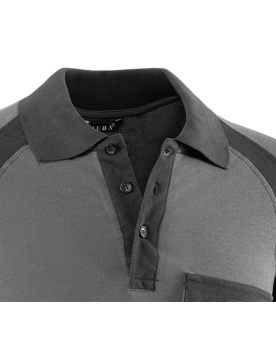 Polo flex 670 negro/gris