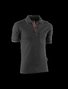 Polo flex 690 marron/negro