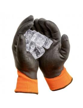 Guante nitrilo antifrío impermeable forro Scandilux