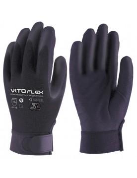 12 pares guante nitrilo vitoflex