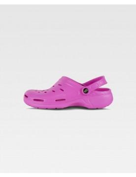 Zueco sanitario rosa unisex